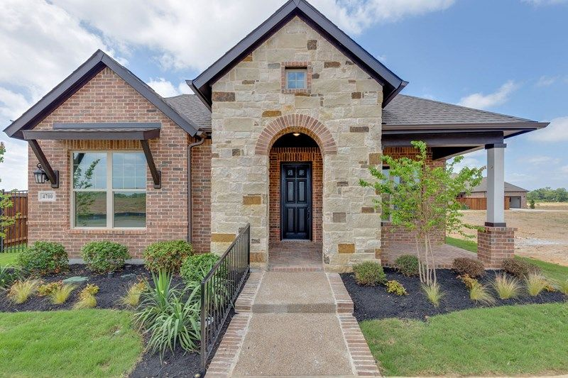 Exterior featured in the Silverhall By David Weekley Homes in Fort Worth, TX
