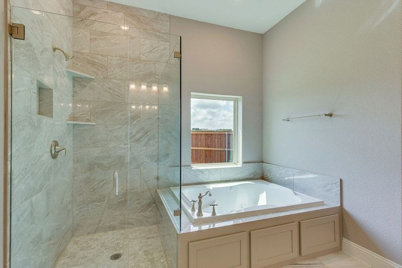 Bathroom featured in the Silverhall By David Weekley Homes in Fort Worth, TX