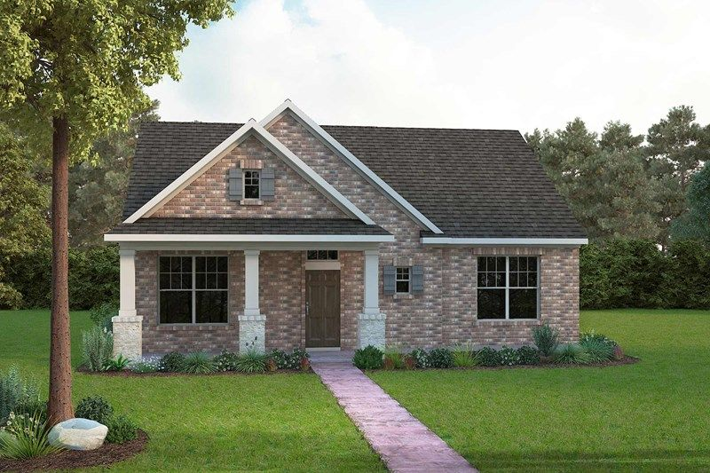 Exterior featured in the Chasewood By David Weekley Homes in Fort Worth, TX