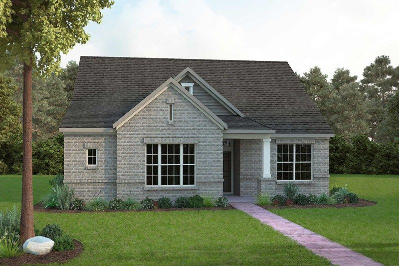 Exterior featured in the Farnsworth By David Weekley Homes in Fort Worth, TX
