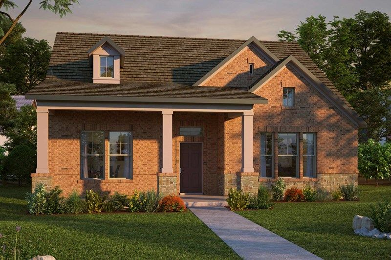 Exterior featured in the Mandolyn By David Weekley Homes in Fort Worth, TX