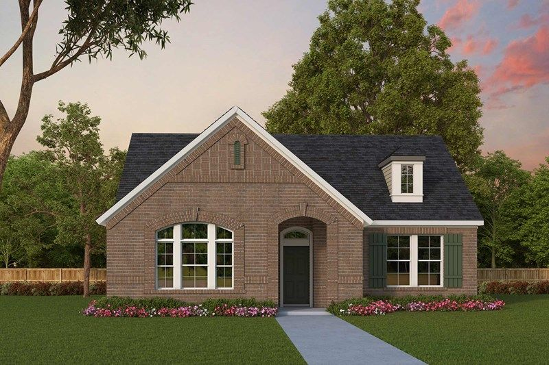 Exterior featured in the Riverdale By David Weekley Homes in Fort Worth, TX