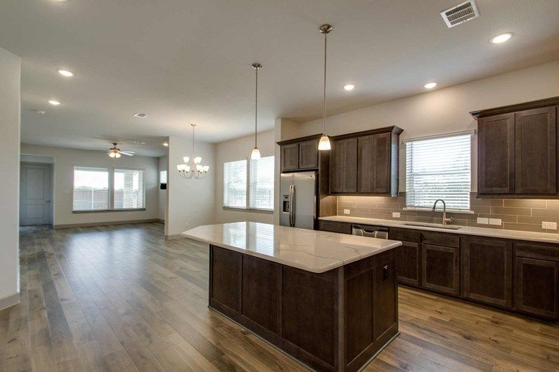 Kitchen featured in the Glencrest By David Weekley Homes in Fort Worth, TX