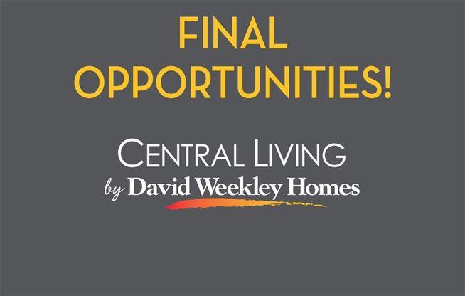Edgehill at Historic Kirkwood - Final Opportunities