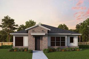 Montclaire - Parkland Square 50' - Cottage Series: Cypress, Texas - David Weekley Homes