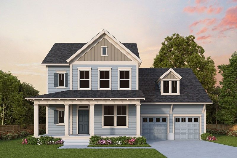 Exterior featured in the Lenwood By David Weekley Homes in Charleston, SC