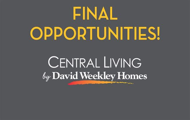 Mueller 80' Row Homes - Final Opportunities