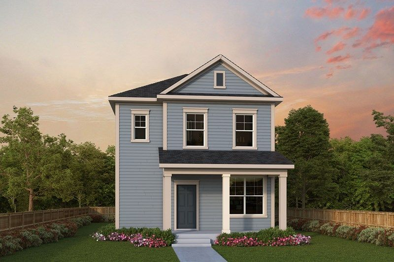 Exterior featured in the Larston By David Weekley Homes in Charleston, SC