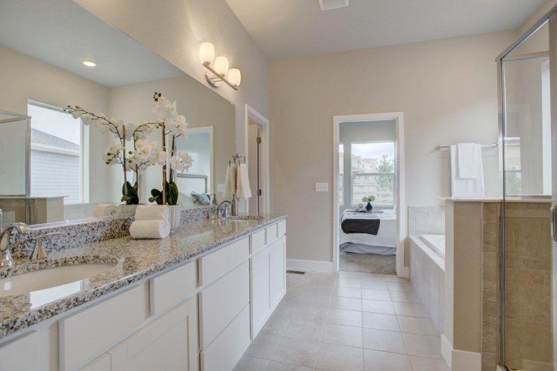 Bathroom featured in the Ivyglen By David Weekley Homes in Colorado Springs, CO