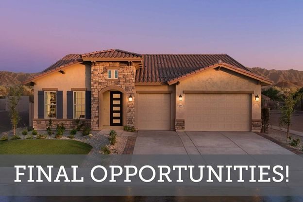 Peralta Canyon - Final Opportunities