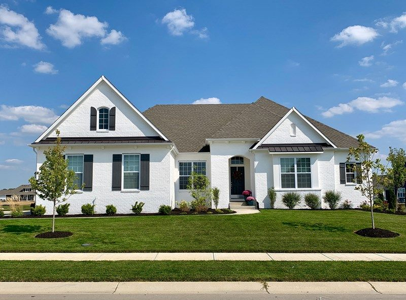 Exterior featured in the Burlwood By David Weekley Homes in Indianapolis, IN