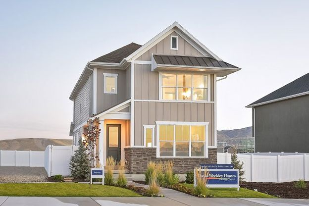 The Eagleview in Holbrook Farms - The Villas