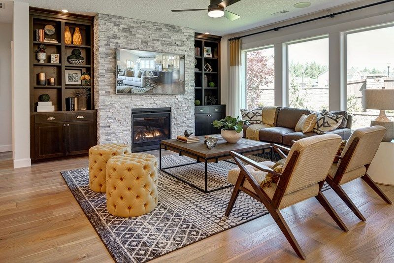 Living Area featured in the Criswell By David Weekley Homes in Portland-Vancouver, WA