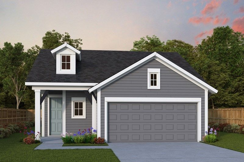 Exterior featured in the Riverknoll By David Weekley Homes in Jacksonville-St. Augustine, FL