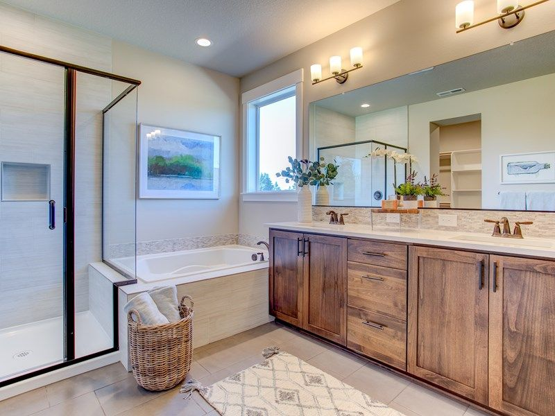Bathroom featured in the Wedgestone By David Weekley Homes in Portland-Vancouver, WA