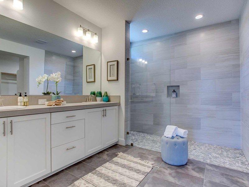 Bathroom featured in the Eaglerock By David Weekley Homes in Portland-Vancouver, WA