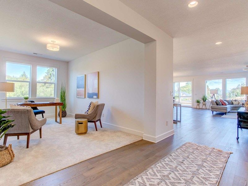 Living Area featured in the Eaglerock By David Weekley Homes in Portland-Vancouver, WA