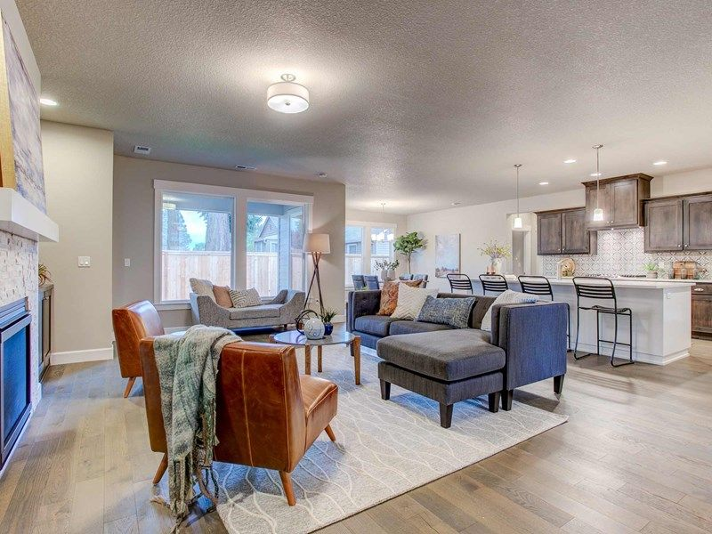 Living Area featured in the Bryson By David Weekley Homes in Portland-Vancouver, WA
