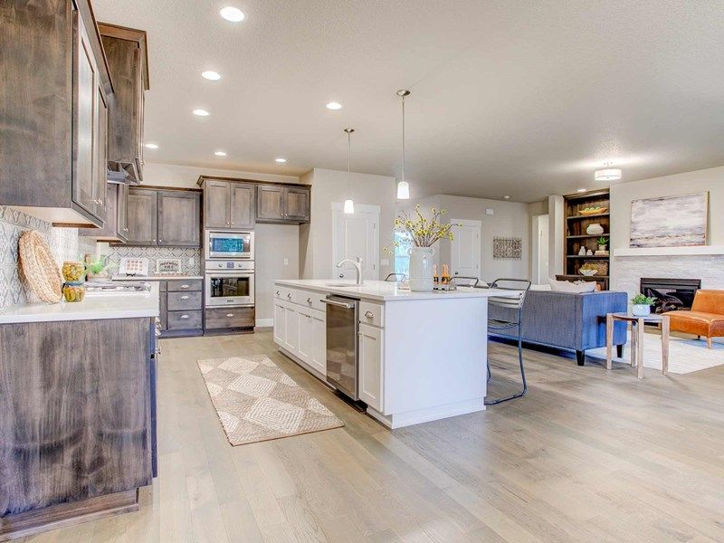 Kitchen featured in the Bryson By David Weekley Homes in Portland-Vancouver, WA