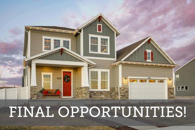 Final Opportunities in Holbrook Farms - The Estates