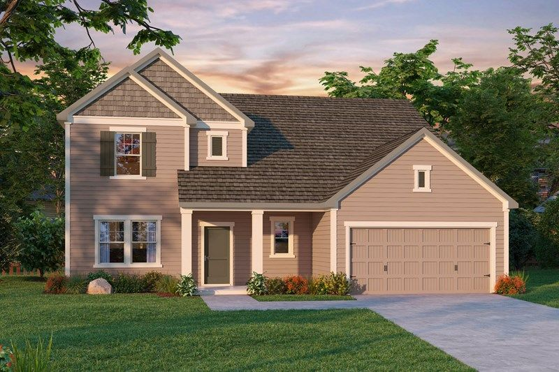 Exterior featured in the Rivers By David Weekley Homes in Charlotte, NC