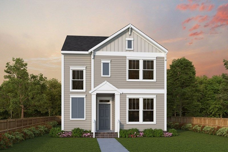 Exterior featured in the Grandel By David Weekley Homes in Charlotte, NC
