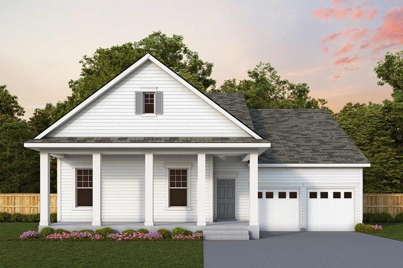 Exterior featured in the Goodall By David Weekley Homes in Charleston, SC