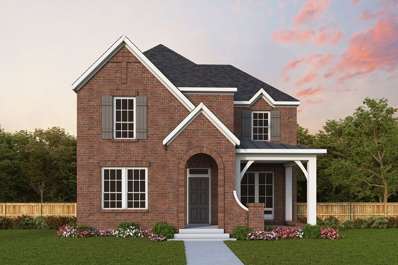 Exterior featured in the Eastmoreland By David Weekley Homes in Dallas, TX