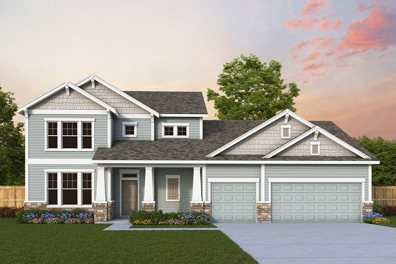 Exterior featured in the Kerrwood By David Weekley Homes in Portland-Vancouver, WA