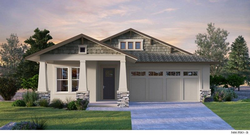 Exterior featured in the Jacqueline By David Weekley Homes in Phoenix-Mesa, AZ