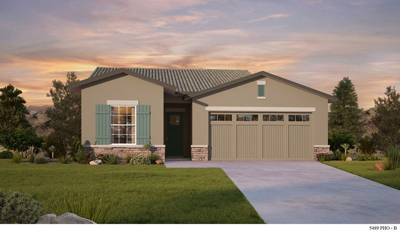 Exterior featured in the Schrader By David Weekley Homes in Phoenix-Mesa, AZ