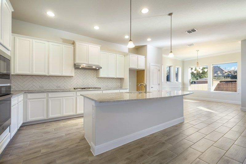 Kitchen featured in the Coltman By David Weekley Homes in San Antonio, TX