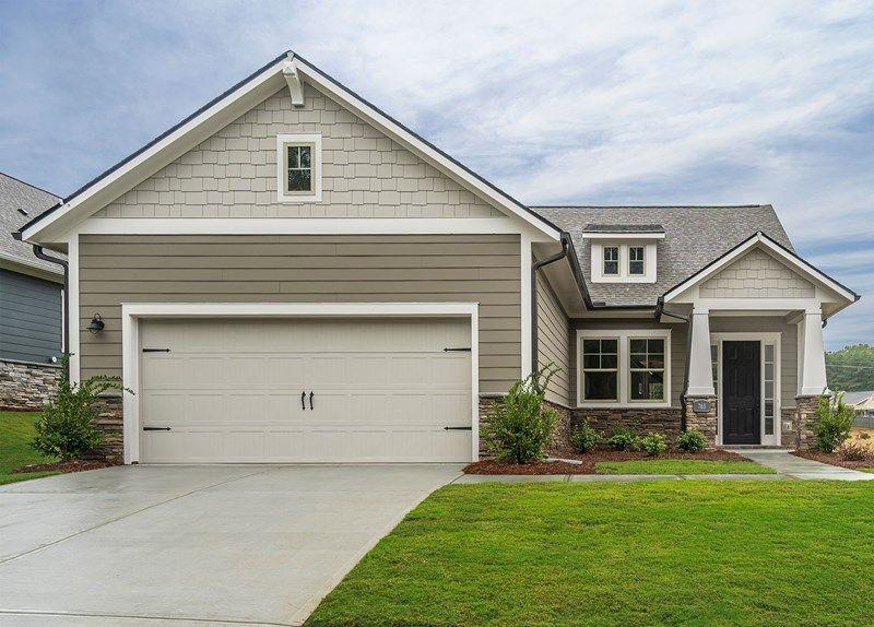 Exterior featured in the Bevington By David Weekley Homes in Atlanta, GA