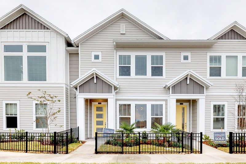 Exterior featured in the Brail By David Weekley Homes in Jacksonville-St. Augustine, FL