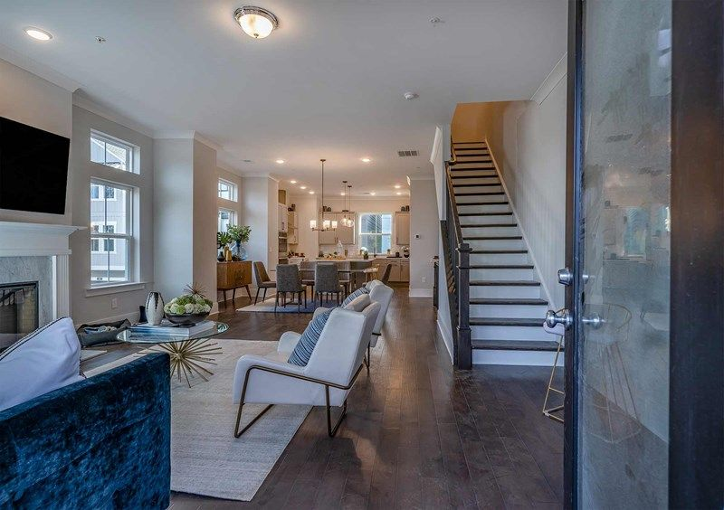 Living Area featured in the Harpin By David Weekley Homes in Atlanta, GA