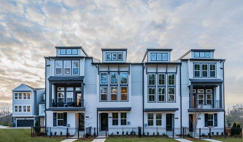 'Hargrove - Townhomes' by David Weekley Homes in Atlanta