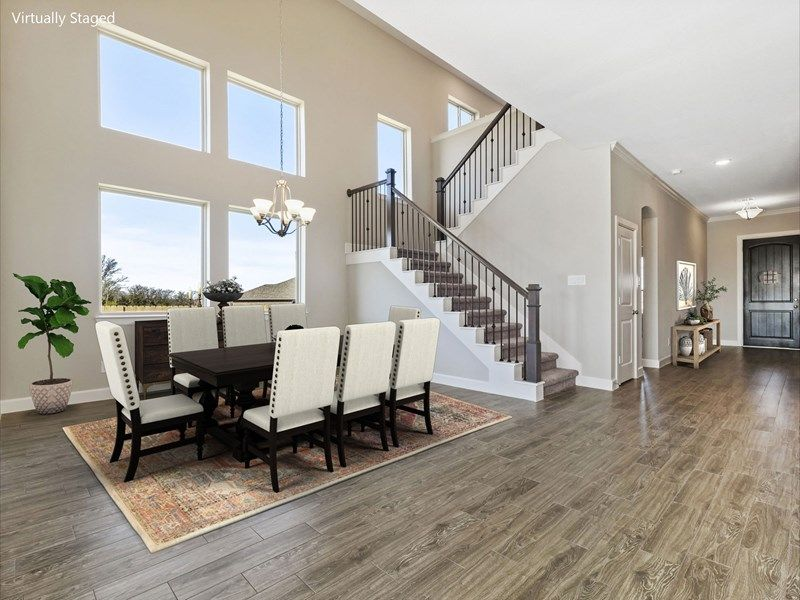 Living Area featured in the Blanco By David Weekley Homes in Houston, TX