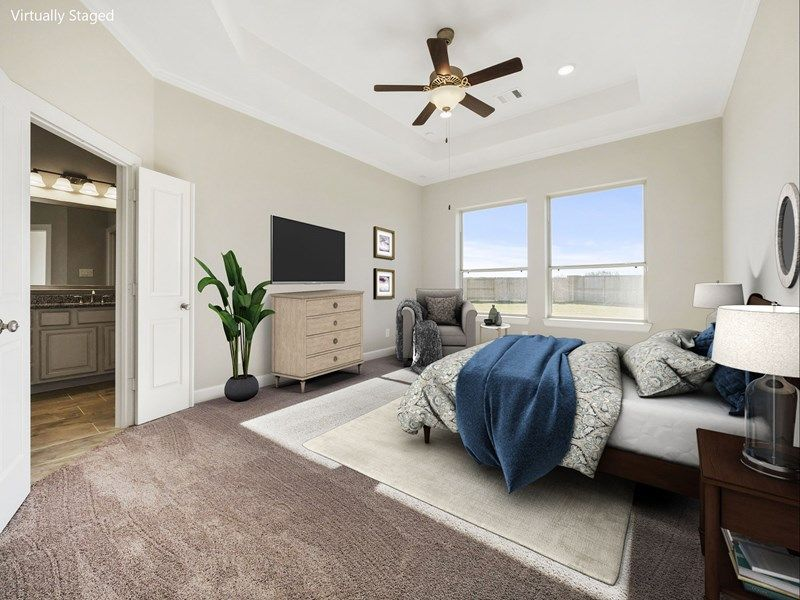 Bedroom featured in the Blanco By David Weekley Homes in Houston, TX