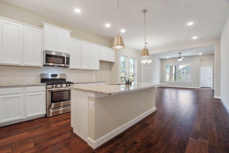 Kitchen featured in the Bingham By David Weekley Homes in Houston, TX