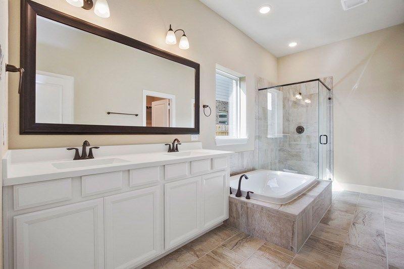 Bathroom featured in the Bingham By David Weekley Homes in Houston, TX