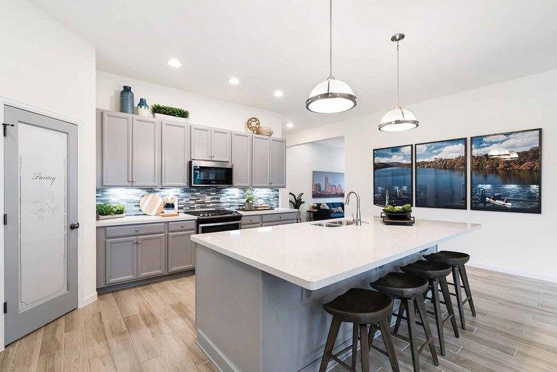 Kitchen featured in the Halden By David Weekley Homes in Austin, TX