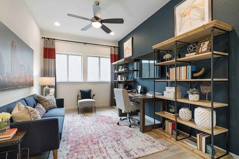 Living Area featured in the Halden By David Weekley Homes in Austin, TX