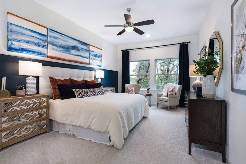 Bedroom featured in the Halden By David Weekley Homes in Austin, TX