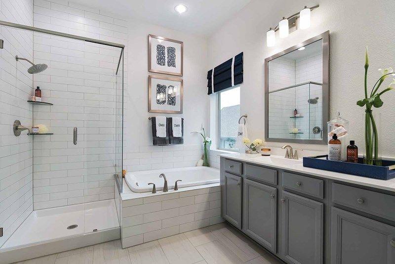 Bathroom featured in the Halden By David Weekley Homes in Austin, TX