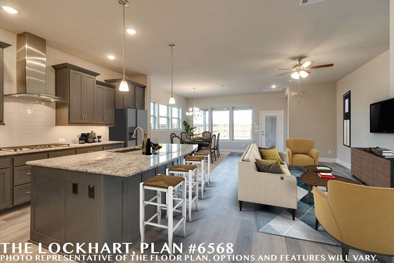 Kitchen featured in the Lockhart By David Weekley Homes in Fort Worth, TX