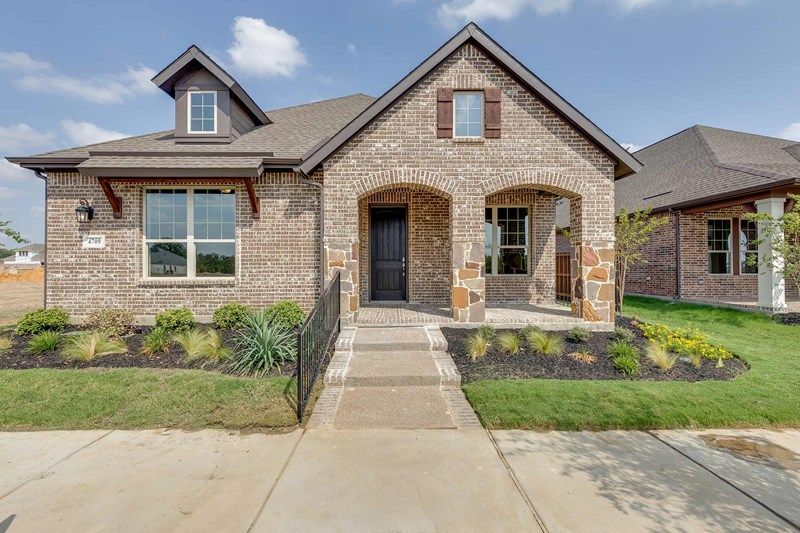 Exterior featured in the Lockhart By David Weekley Homes in Fort Worth, TX
