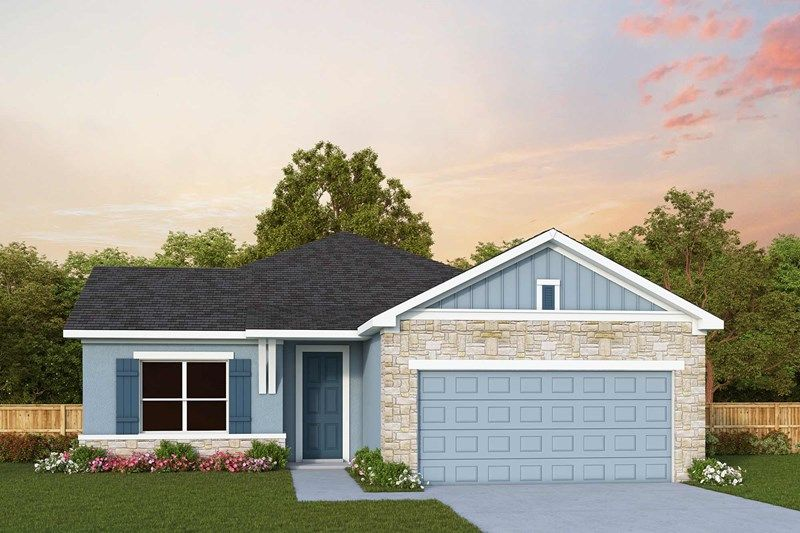 Exterior featured in the Waddle By David Weekley Homes in Sarasota-Bradenton, FL