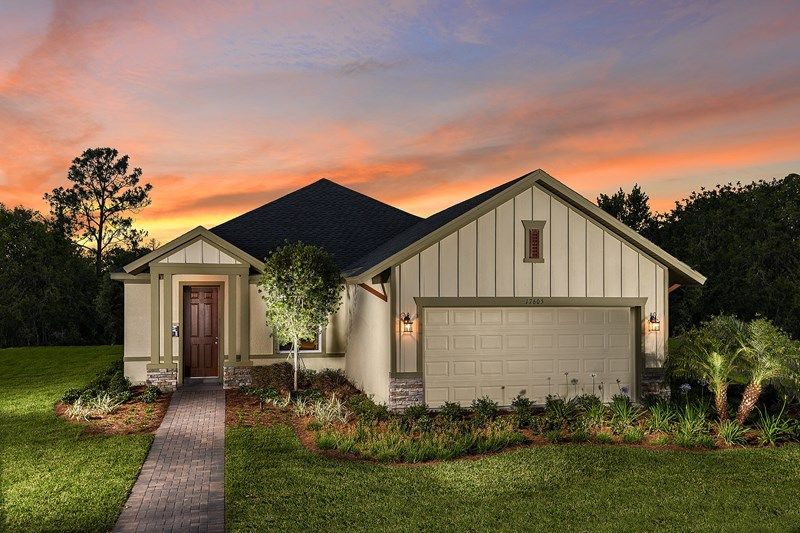 Exterior featured in the Arabica By David Weekley Homes in Sarasota-Bradenton, FL