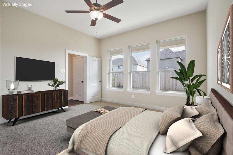 Bedroom featured in the Bingham By David Weekley Homes in Houston, TX
