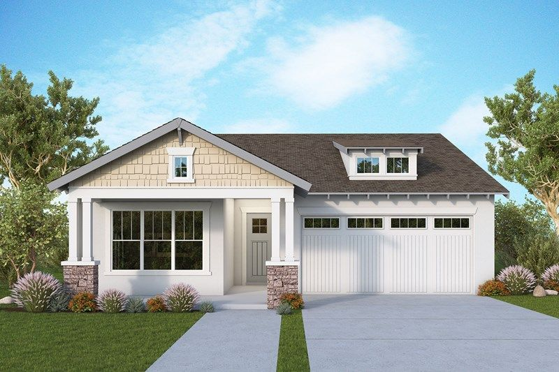 Exterior featured in the Despeaux By David Weekley Homes in Phoenix-Mesa, AZ
